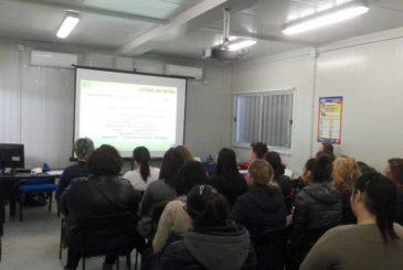 Momento Del Corso Di Formazione Per Lavoratori Realizzato Presso Il Centro Di Formazione Ed Addestramento Lavoratori Parallelo45 In Provincia Di Piacenza