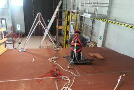 Corso Di Formazione Per L'installazione E Manutenzione Linee Vita Presso Il Centro Di Formazione Ed Addestramento Lavoratori Parallelo45 In Provincia Di Piacenza