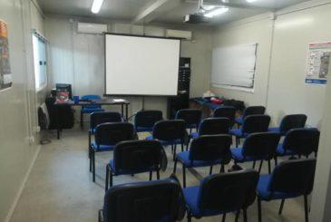 Aula Del Corso RSPP Per Datori Di Lavoro Svolto Presso Il Centro Di Formazione Ed Addestramento Lavoratori Parallelo45 In Provincia Di Piacenza